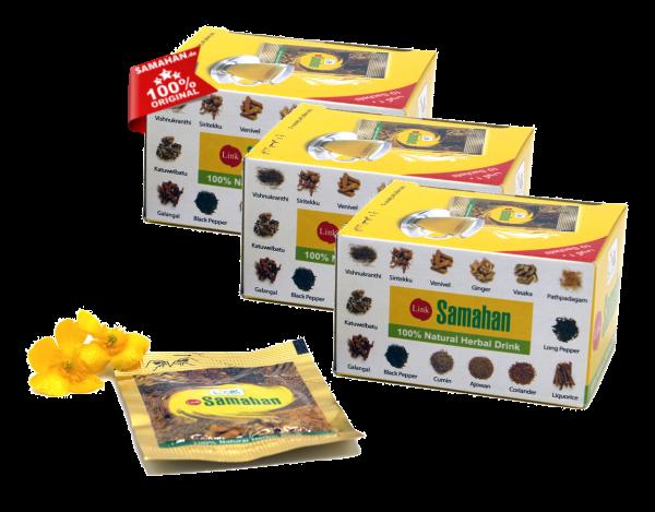 Samahan Tee - 3 x 10er Päckchen