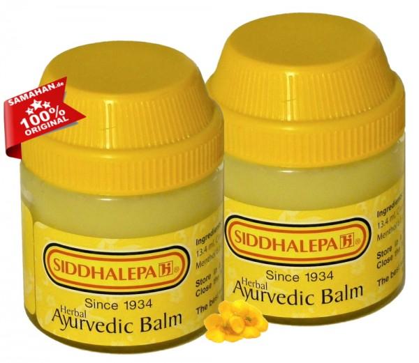 Siddhalepa Ayurvedic Balm 2 x 100g