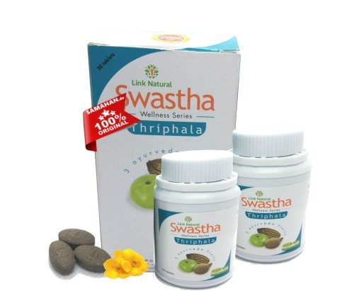 Swastha Triphala 2 x 30 Dreifrucht Tabletten