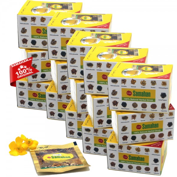 Samahan Tee - 15 x 10er Päckchen